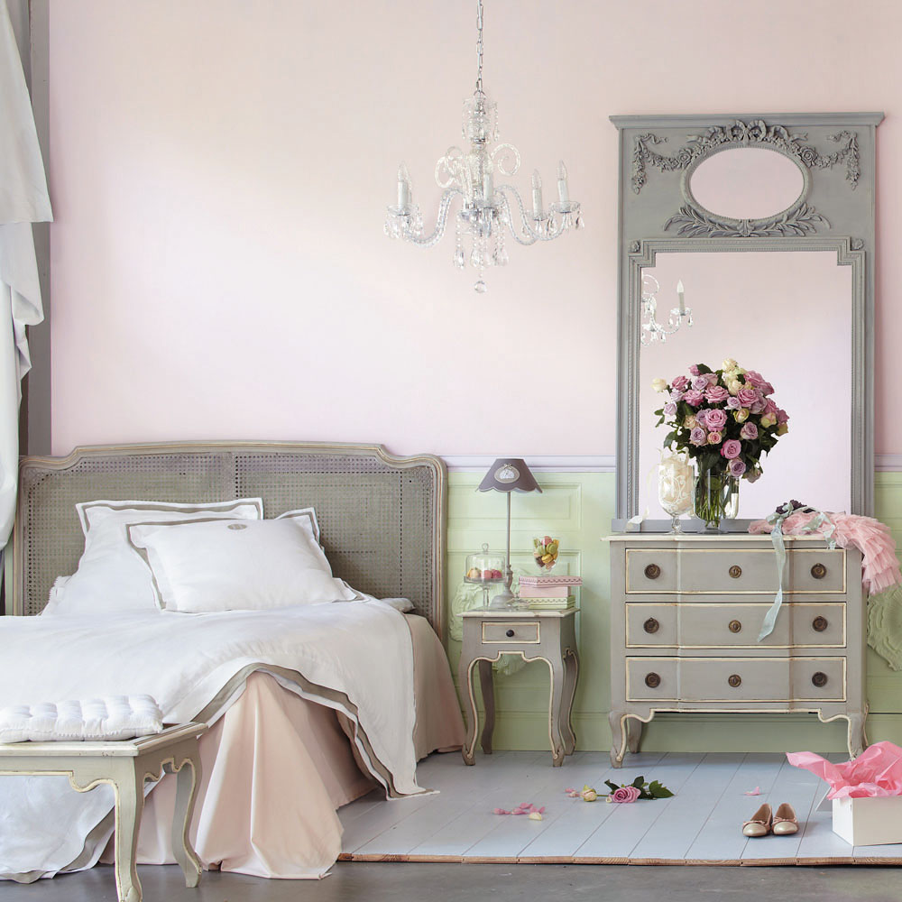 Shabby chic decor tati loves pearls - Ambiance chambre adulte ...