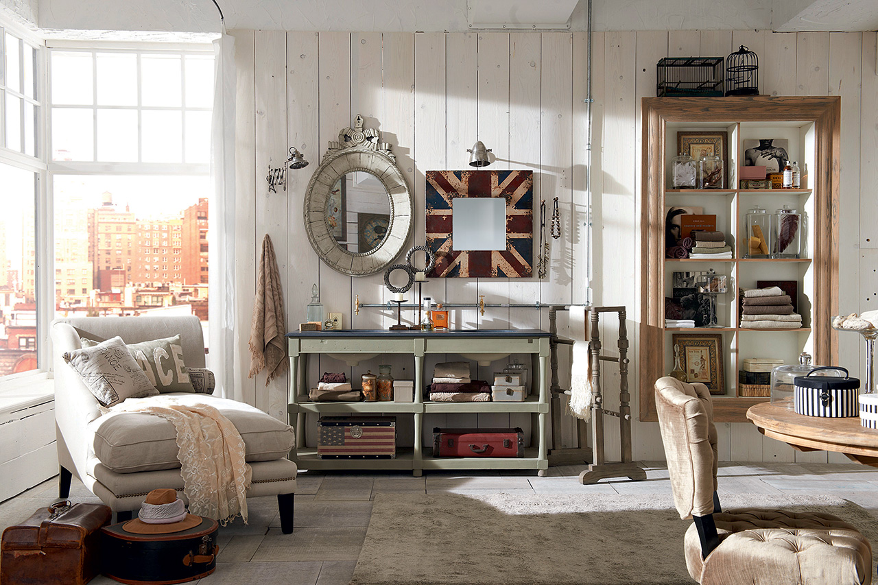 Arredamento shabby for Arredare casa stile country chic