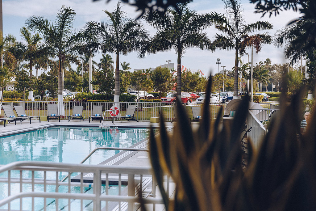 Piscina Aloft Miami Doral