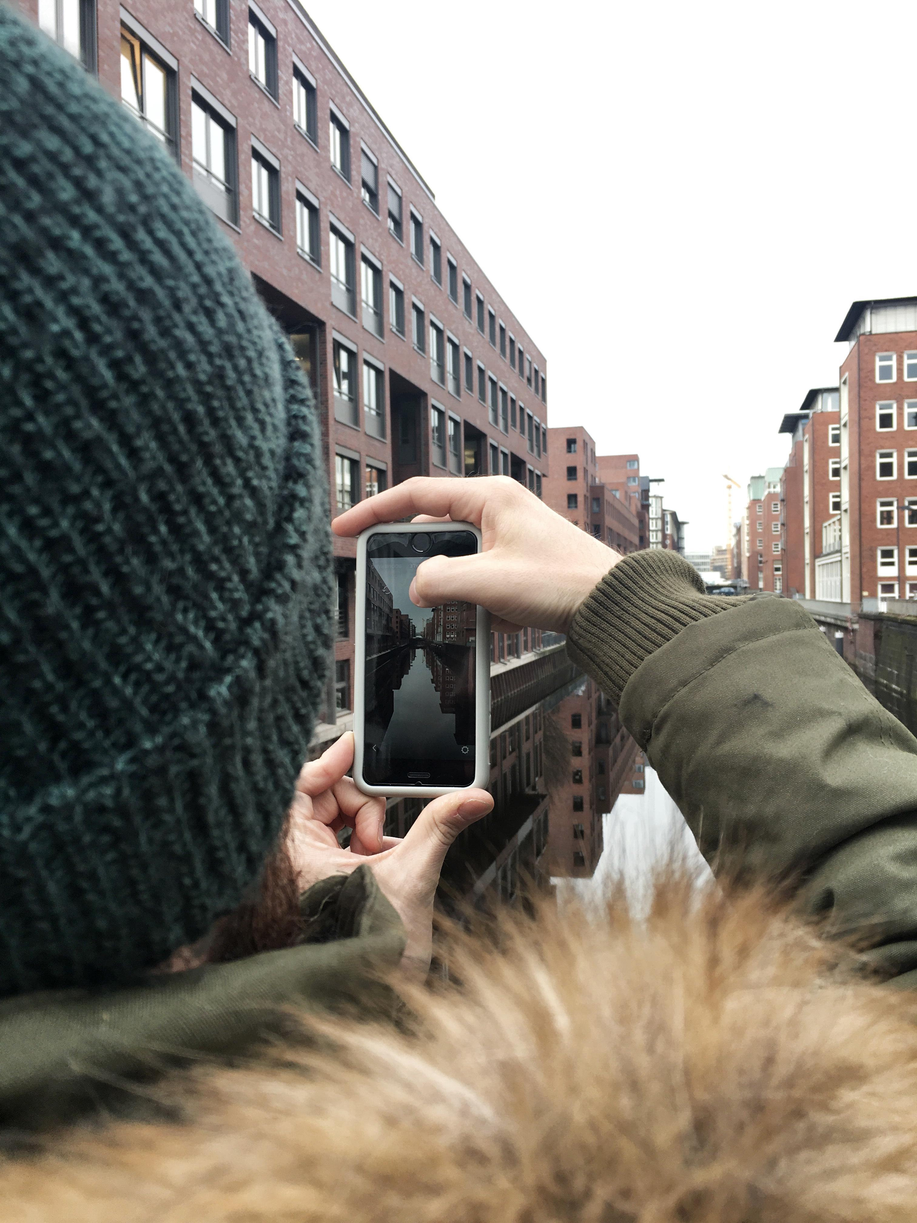 Scattare fotografie di Amburgo