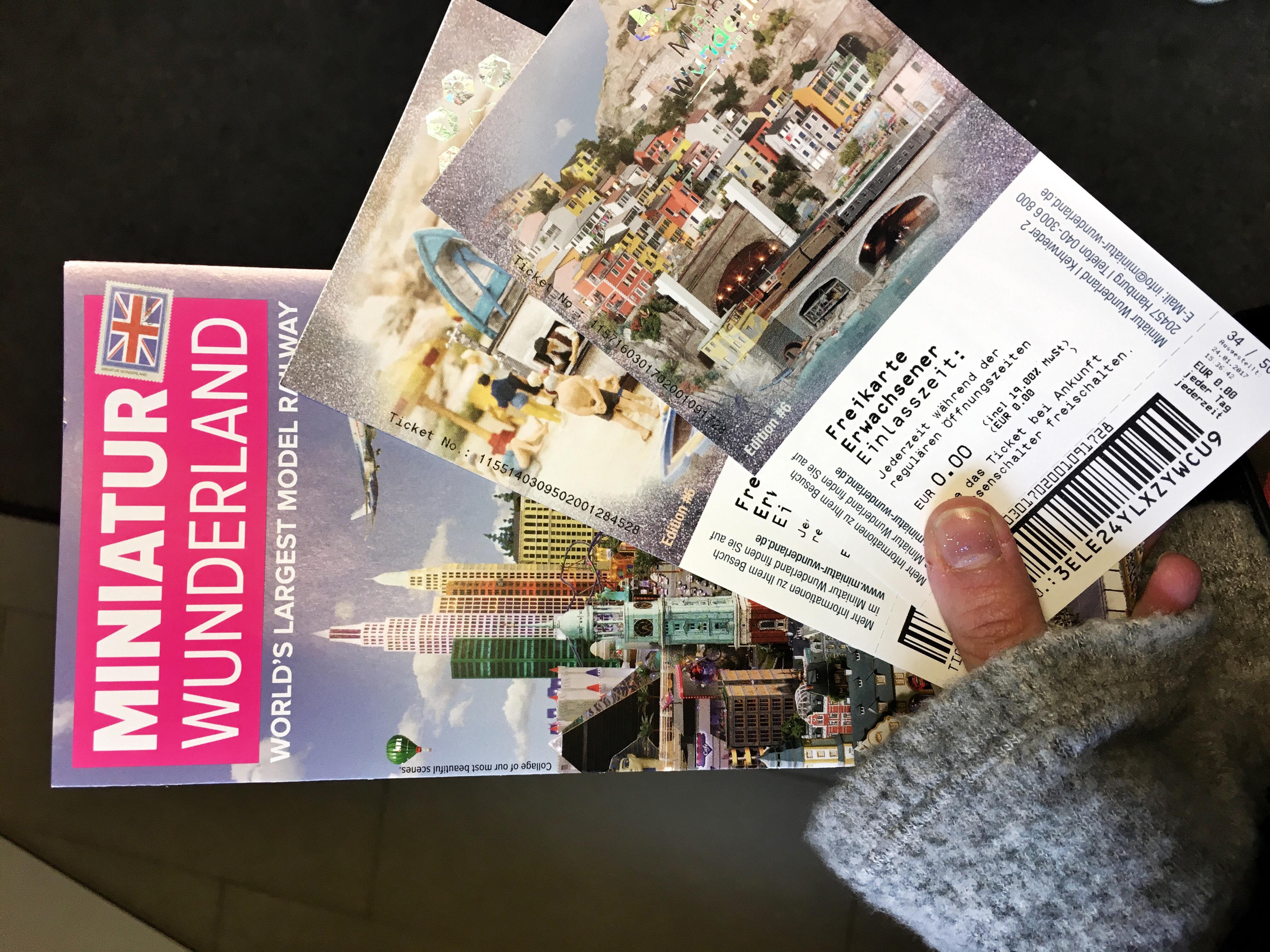 Miniature Wunderland i biglietti
