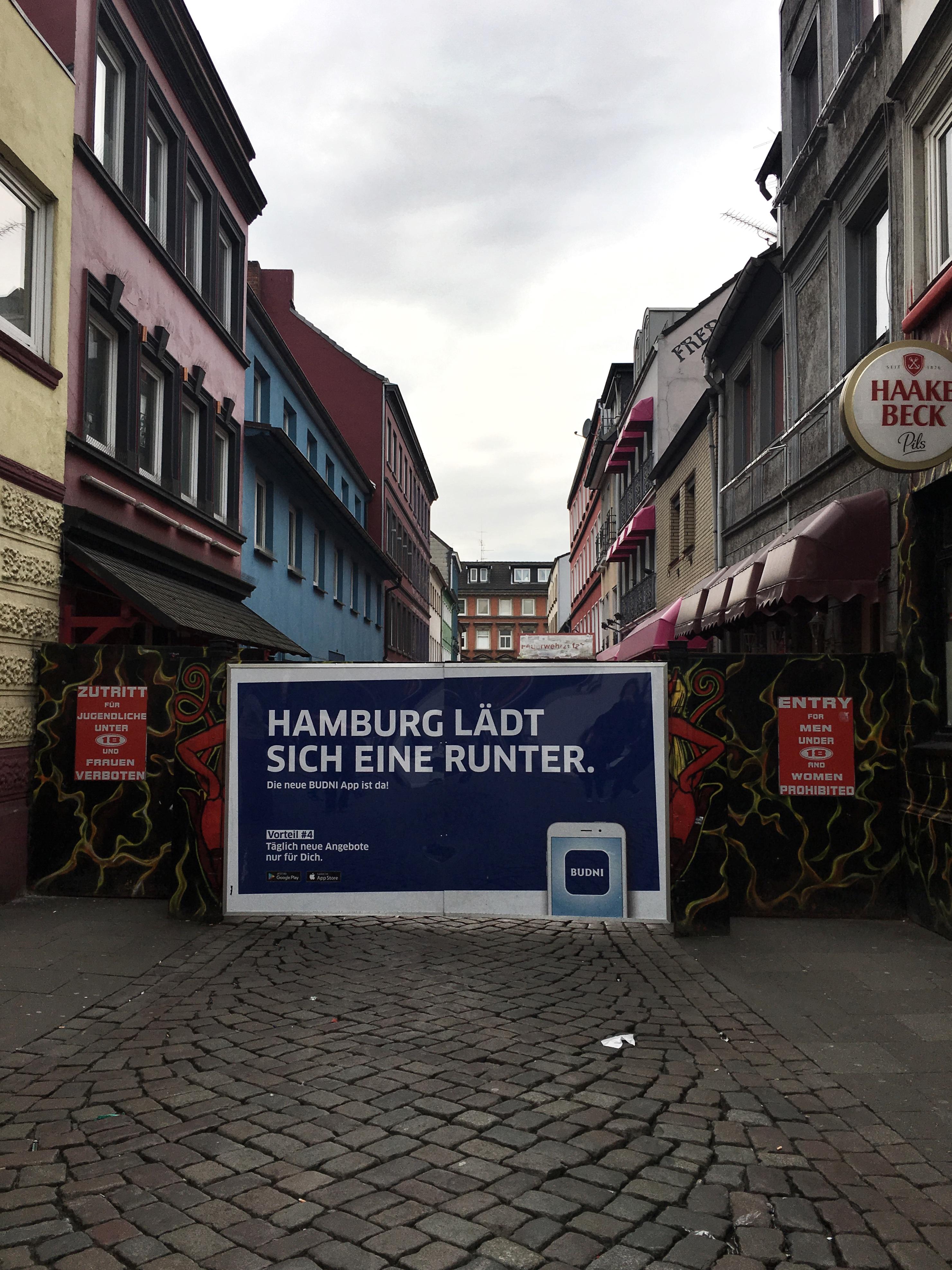 La via della prostituzione di Amburgo