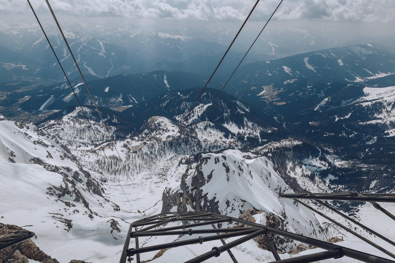 Cabinovia ghiacciaio Dachstein