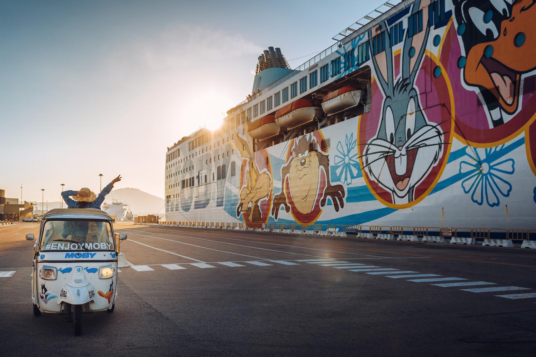 Viaggiare con Moby, sardegna slow travel