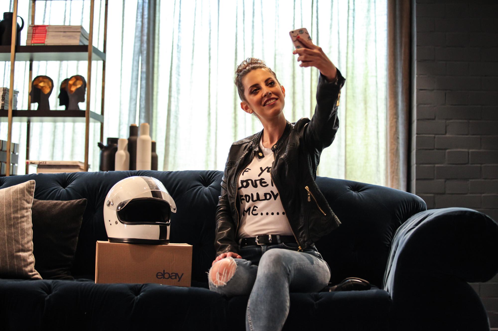 Tatiana Biggi from Tati loves pearls for Ebay.it