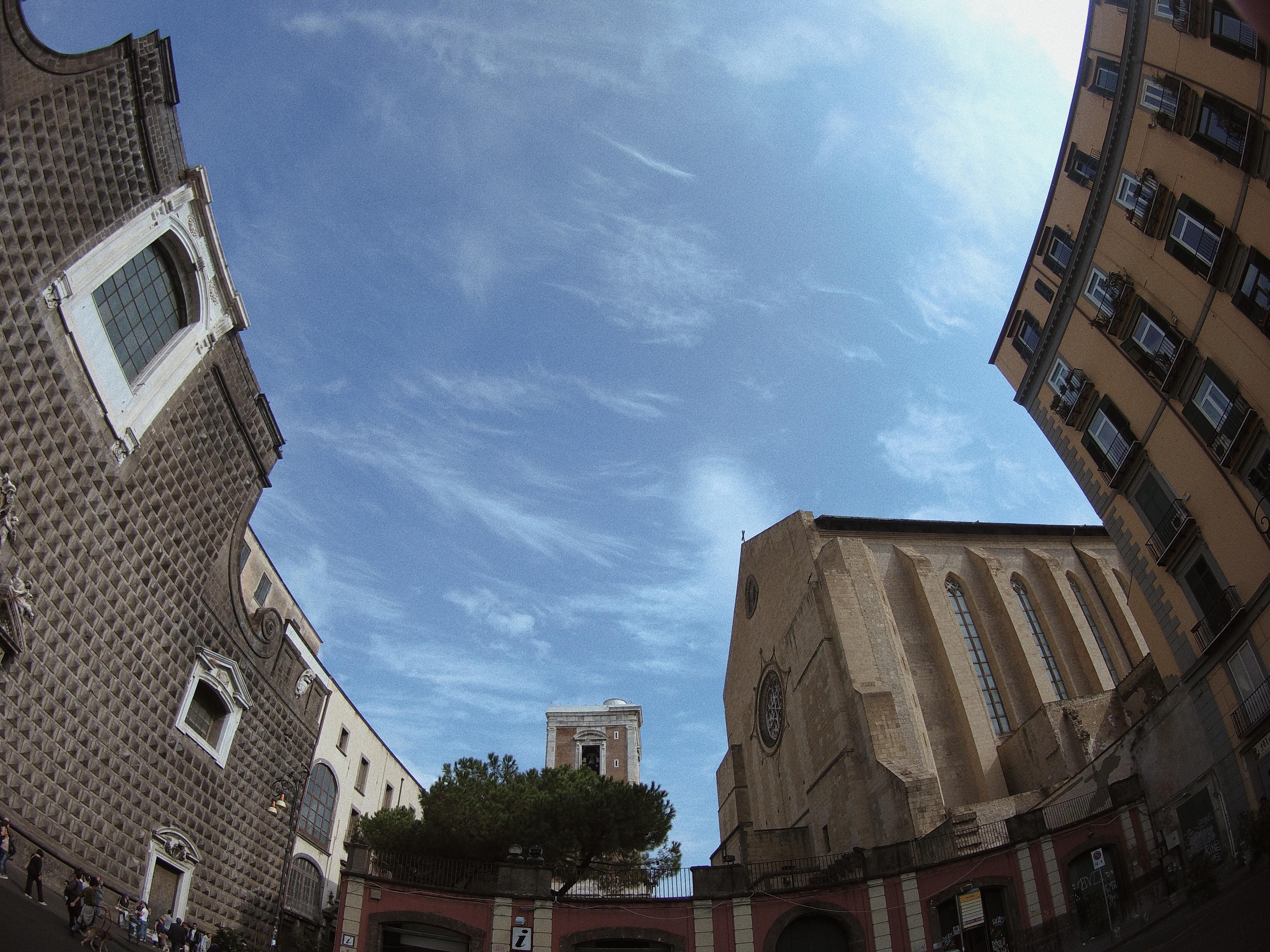 cielo di Napoli