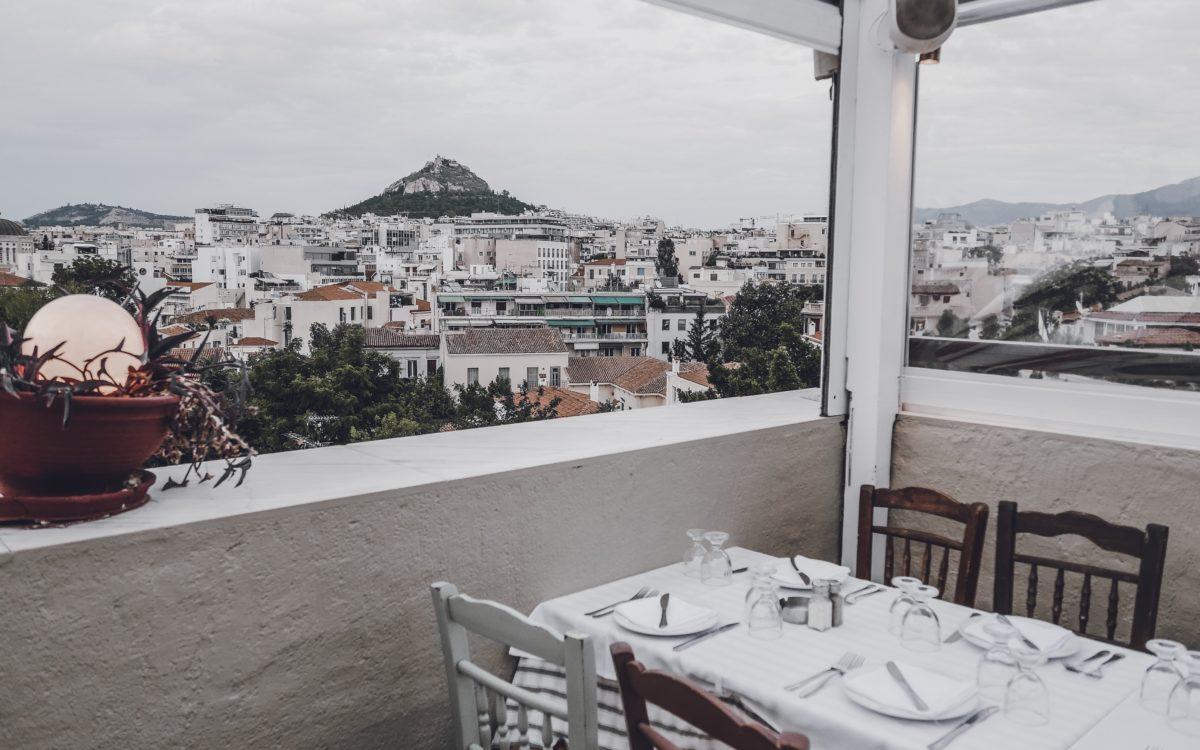 TINGGLY REVIEW | cena con vista ad Atene