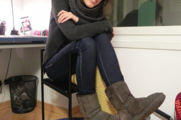 These (Ugg) boots are made for... feeling happy