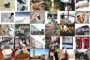 London - Instagram diary