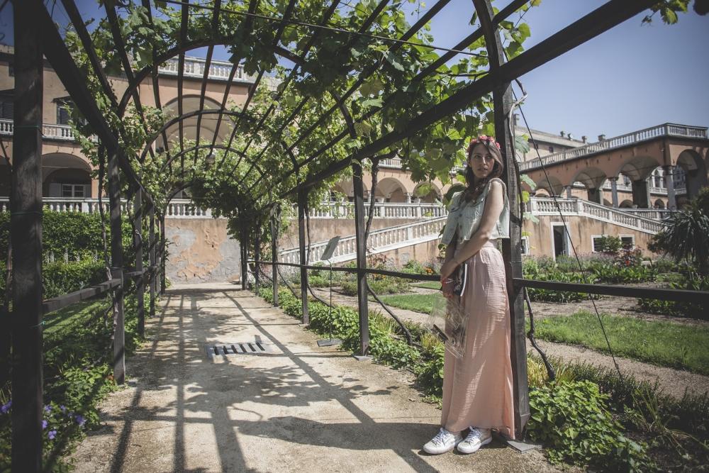 Genova - Shooting @ Villa del Principe / Il giardino