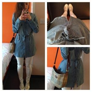 Tatiana Biggi - outfit- metodaywearing - Londra
