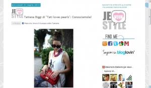 Tatiana Biggi - outfit - Tati loves pearls - intervista - Je veux magazine