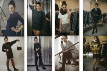 8 outfit per l'inverno / shooting da Fabriek con EplusGenova