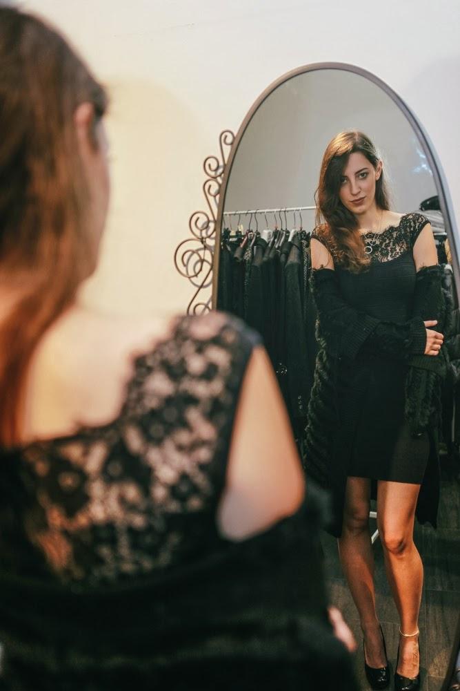 Tatiana Biggi - Tati loves pearls - idee outfit per l'inverno - dove fare shopping a Genova -  Genova - Simone Primo photographer