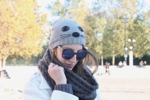 Tatiana Biggi - Tati loves pearls - outfit - blogger - Milano - beanie - come portare i cappellini d'inverno - dettagli