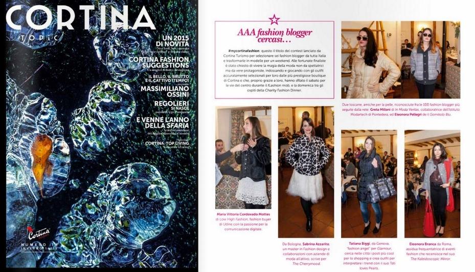 Press - Tatiana Biggi - Cortina Topic