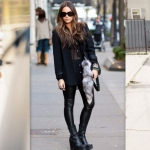 Tatiana Biggi - Tati loves pearls - outfit total black - outfit inverno 2014 - outfit inspirations
