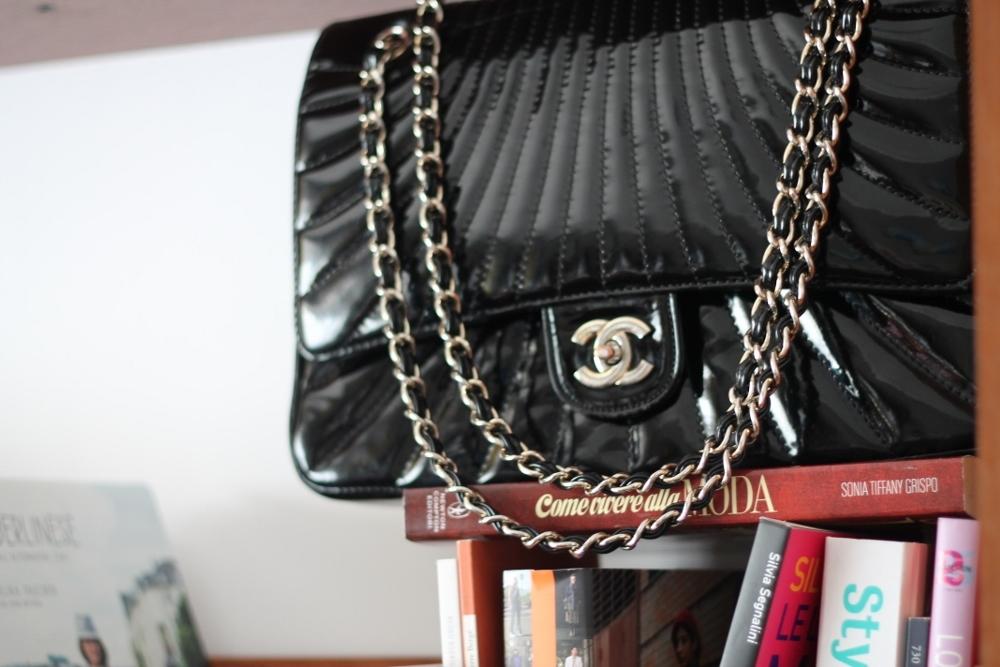 Tatiana Biggi - Tati loves pearls - shopping - Chanel - vintage
