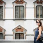 Tatiana Biggi - Tati loves pearls - fashion blogger Genova - outfit - Chanel - skater dress