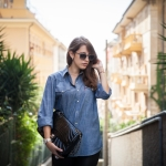 Tatiana Biggi - Tati loves pearls - outfit - fashion blogger genova - ootd - casual - denim - chanel