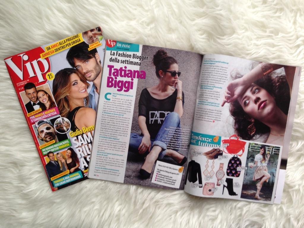 Tatiana Biggi - Tati loves pearls - press update - Vip rivista - Vip fashion blogger - La fashion blogger della settimana Vip