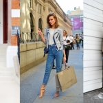 Tatiana Biggi - Tati loves pearls - skinny jeans fashion blogger - levi's 501 fashion blogger - flare jeans fashion blogger- outfit inspirations - denim