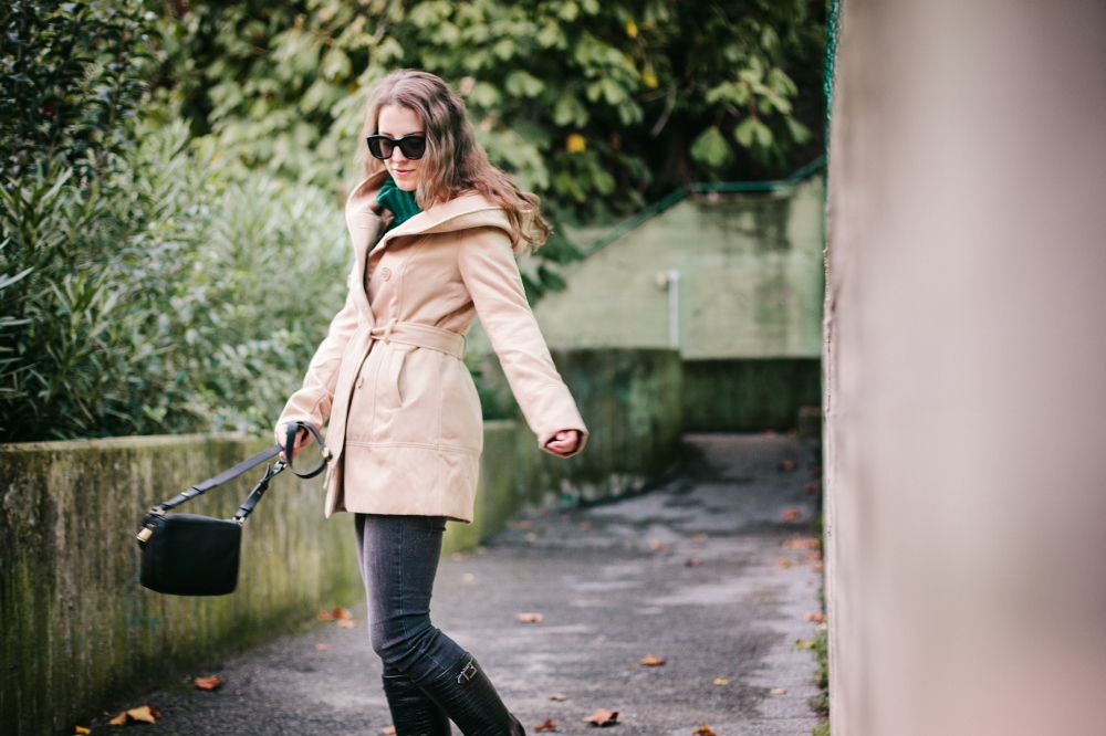 Tatiana Biggi - fashion blogger - camel coat