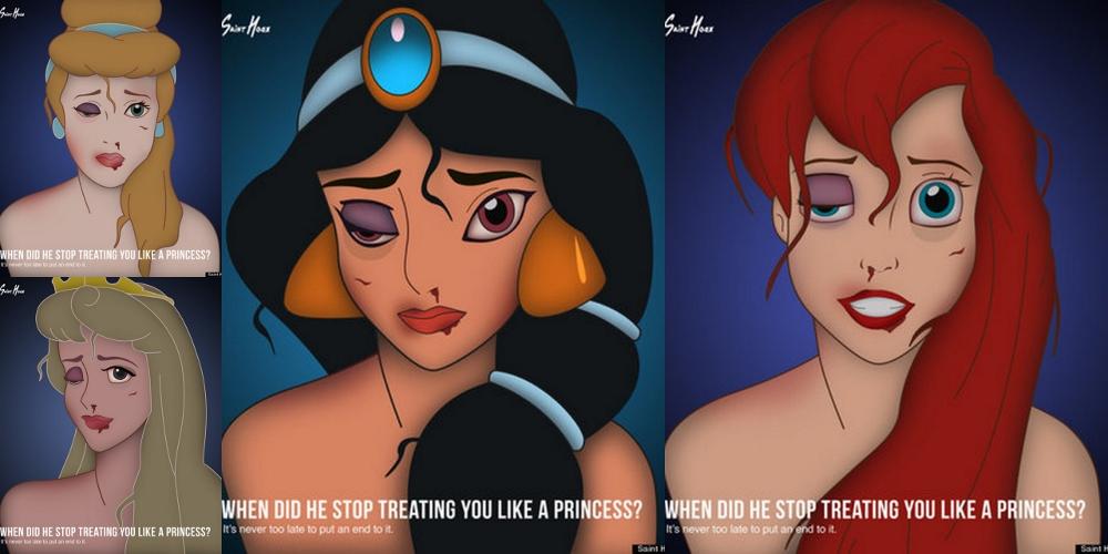 When did he stop treating you like a princess? - Quando ha smesso di trattarti come una principessa? - Violenza sulle donne - stop violence against women