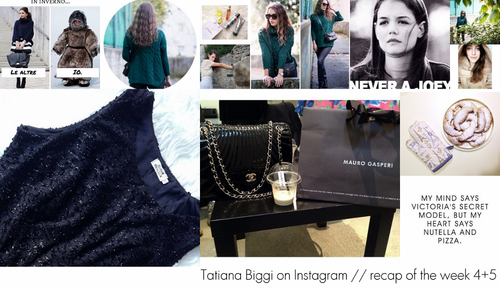 Tatiana Biggi Instagram - fashion blogger Instagram - Instagram recap
