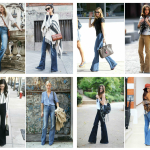 flare pants - flare jeans