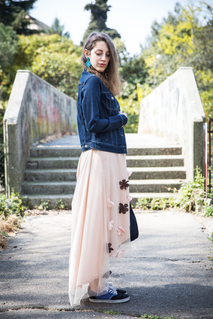 outfit primavera - outfit abito lungo