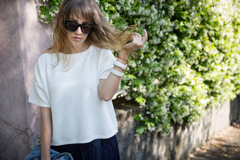 outfit bianco blu - outfit primavera - outfit estate