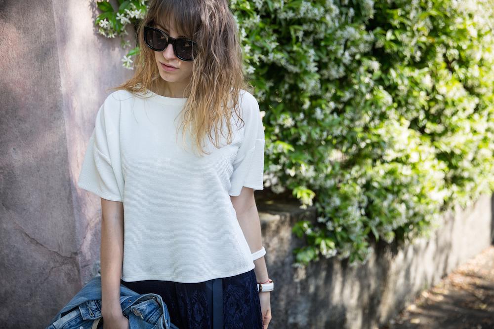 outfit blu e bianco - outfit primavera - outfit estatev