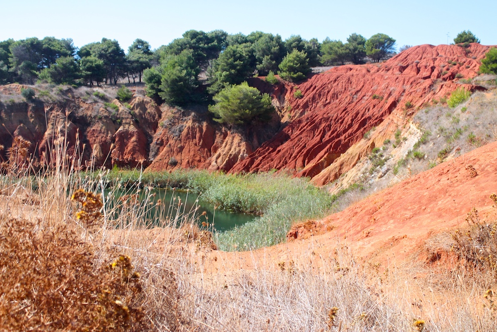 cava di bauxite - Otranto - Puglia cosa vedere