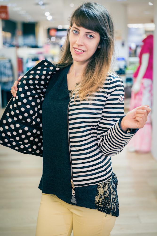 Shopping saldi - Shopping Bagnara Genova - Moncler 100 grammi - piumino 100 grammi - Tati loves pearls - Tatiana Biggi