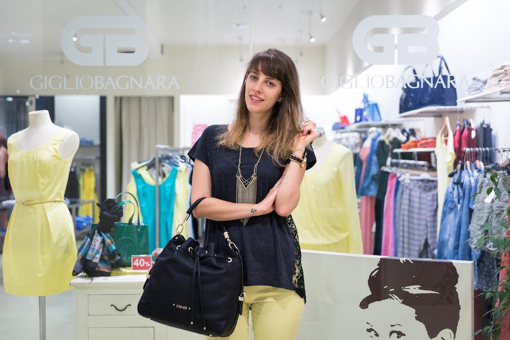 shopping durante i saldi - sales shopping - bucket bag - Liu jo borsa - shopping a Genova - Giglio Bagnara Genova