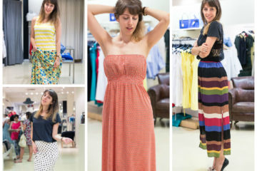 | Shopping con i saldi #3 | Maxi dress & maxi skirt