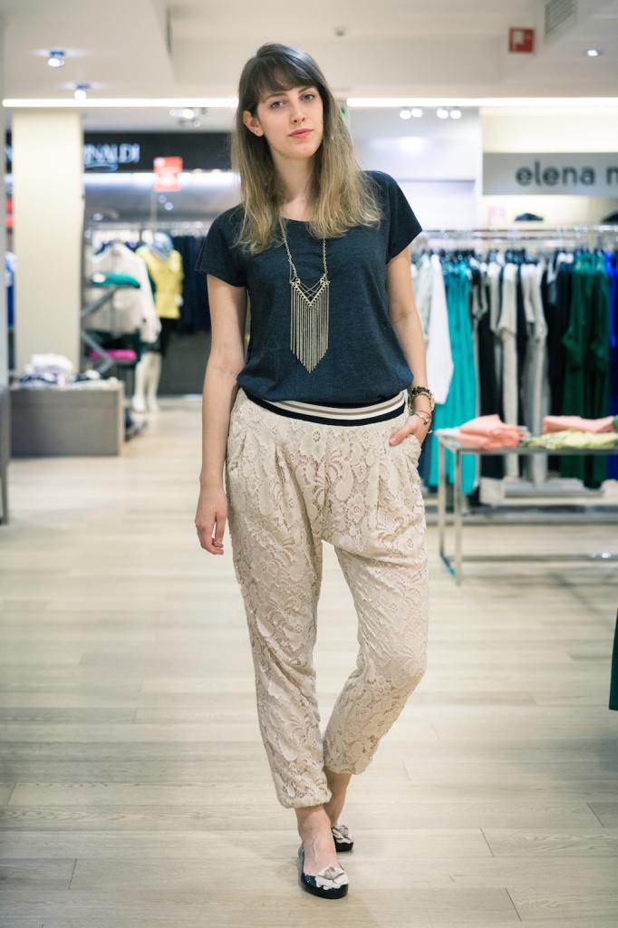 must have - saldi - shopping - shopping a Genova - Giglio Bagnara Genova - pantaloni pizzo Pianura