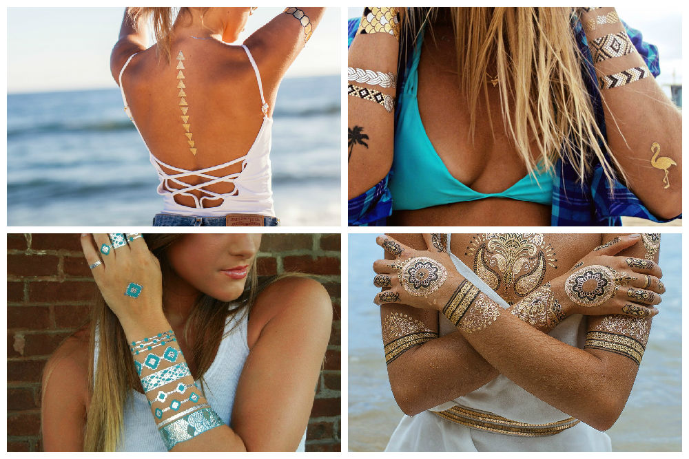 tatuaggi gioiello temporanei - fake tattoos - trend estate 2015 - Tati loves pearls -Tatiana Biggi