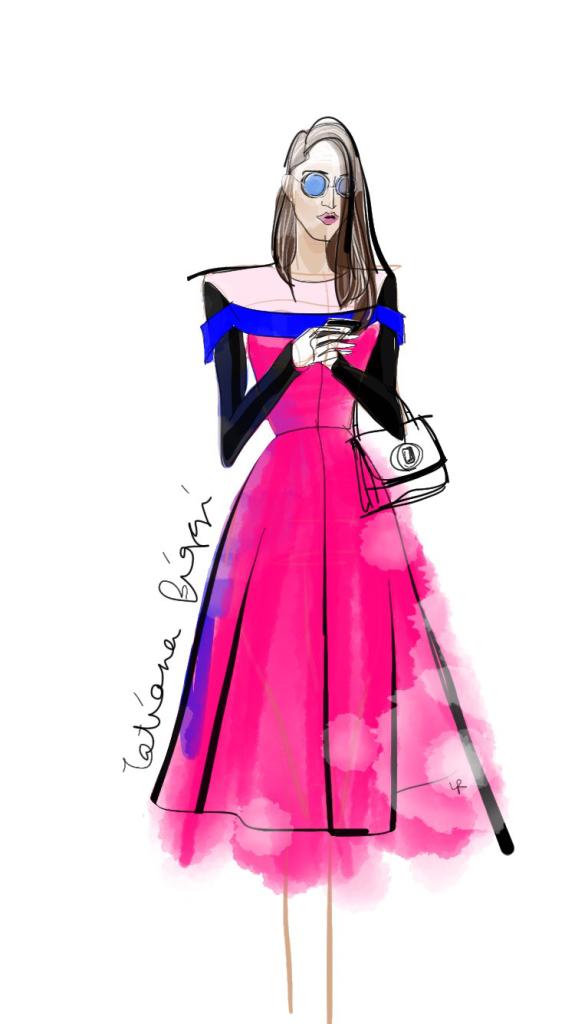 fashion sketches - tatiana biggi - blogger - fashion blogger