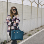 Piero Guidi - outfit inverno - tartan - panta coulottes - sneakers