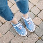 Coca cola shoes - look primavera - outfit primavera - Tatiana Biggi - blogger Genova - mom jeans - jeans a vita alta outfit