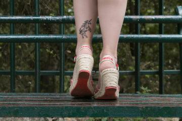 Di Domenica || abito Promod, espadrillas Coca Cola Shoes e Unicorni