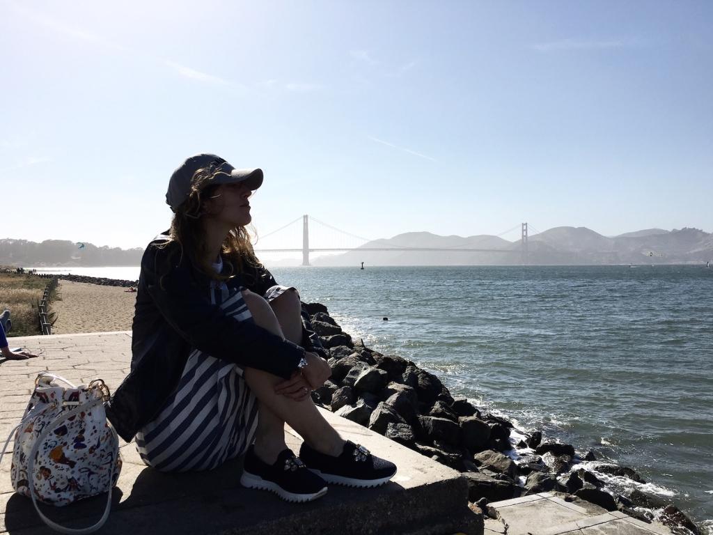 California blog tour - Visit California - #californiaonyourown - San Francisco cosa vedere - The Golden Gate Bridge - Tatiana Biggi travel blogger