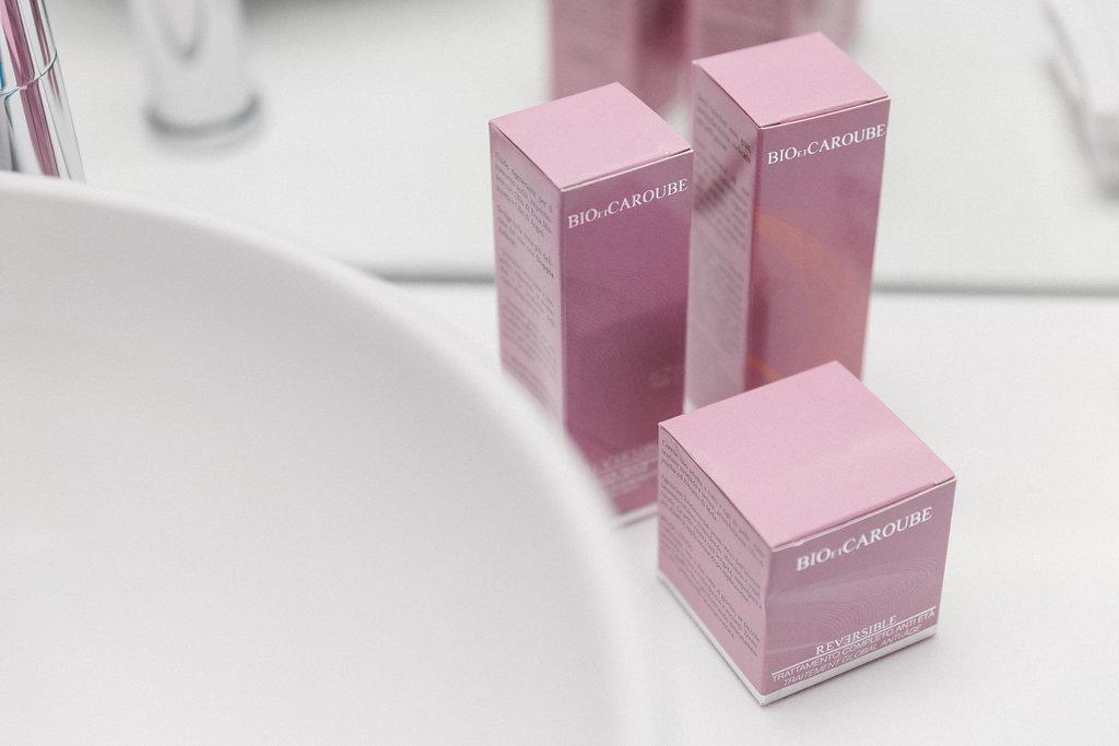 Bio et caroube - prodotti beauty made in Italy - beauty routine - Tatiana Biggi - Miami -
