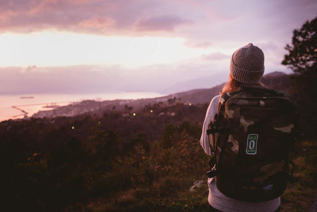 Tatiana Biggi - travel - travel blog - viaggiare leggeri- tramonto - inspiration travel - cabin zero - zaino per viaggiare