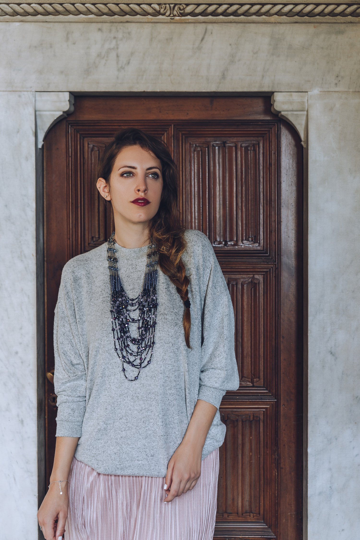 Tatiana Biggi blogger Tati loves pearls for Keel Magazine
