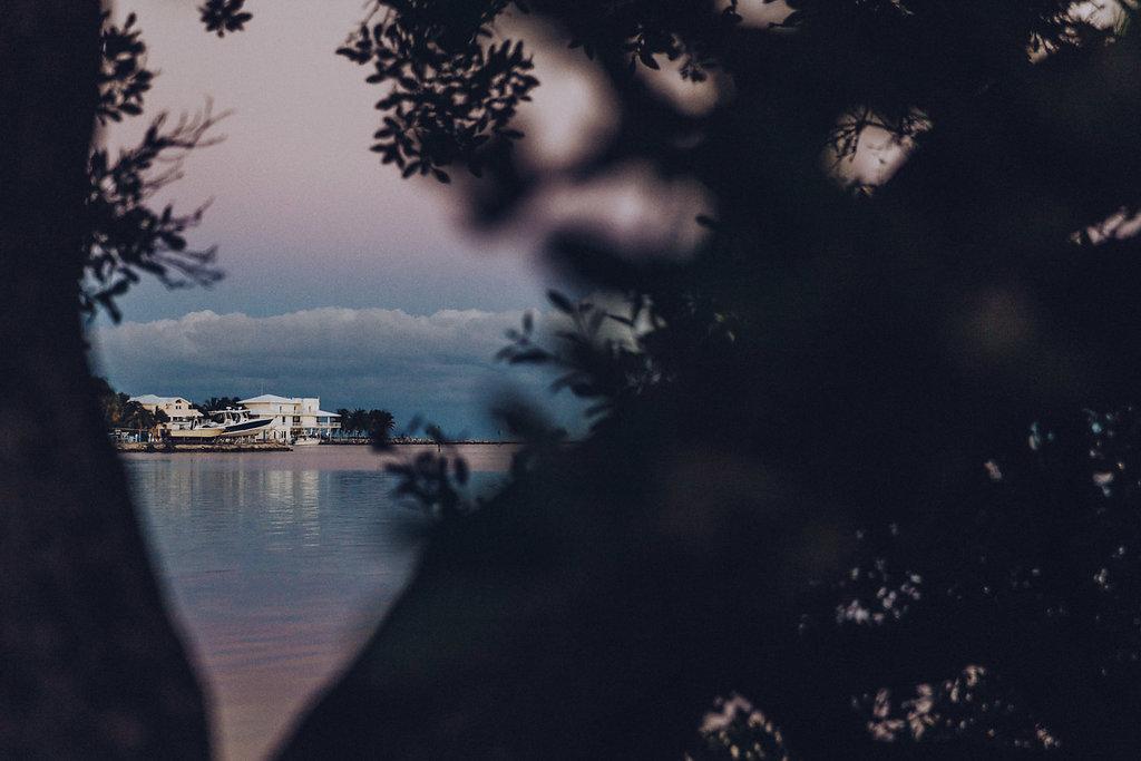 IL tramonto dalle Isole Keys