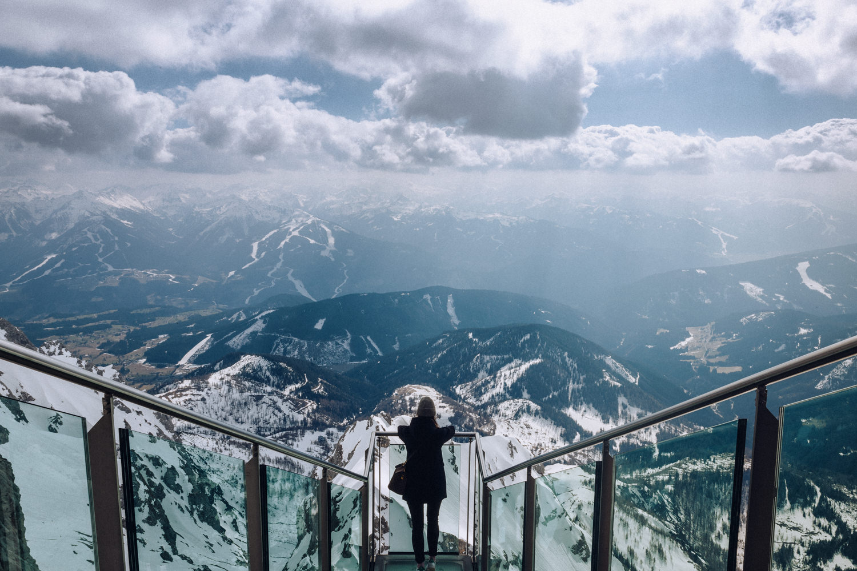 Tatiana Biggi travel blogger Sky walk Austria