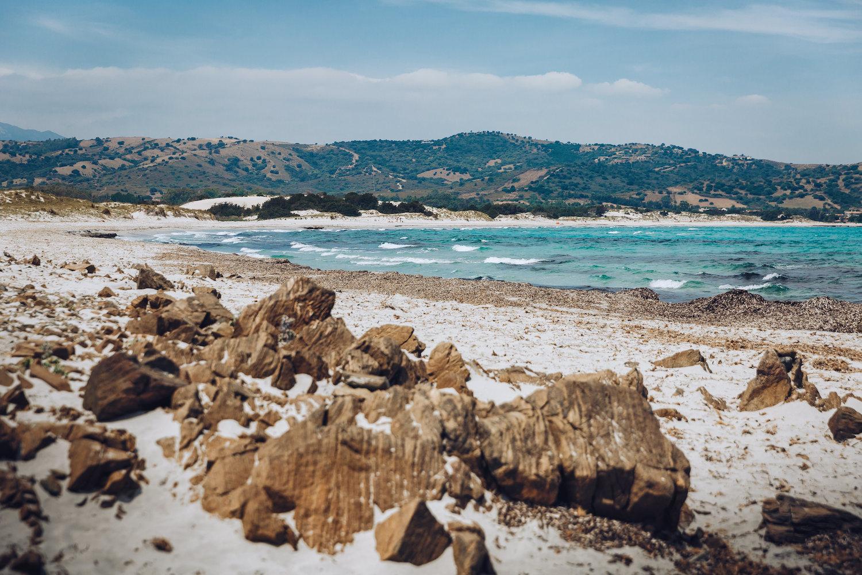 Spiagge della sardegna Capo Comino